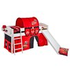 Wrigglebox Disney Cars European Single Mid Sleeper Bed
