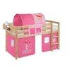 Wrigglebox Jelle Princess Mid Sleeper Bed