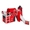 Wrigglebox Jelle Disney Cars Mid Sleeper Bed