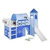 Wrigglebox Jelle Tractor Mid Sleeper Bed