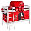 Wrigglebox Disney Cars European Single Bunk Bed