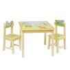 Wrigglebox 3-tlg. Kinder Tisch und Stuhl-Set Gracey Grins