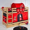 Wrigglebox Belle Disney Cars European Single Bunk Bed