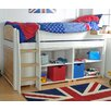 Wrigglebox Norfolk Mid Sleeper Bed with Storage