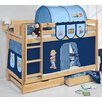 Wrigglebox Belle Bob The Builder European Single Bunk Bed with Storage