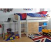 Wrigglebox Norfolk Single High Sleeper Bed with Storage