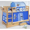 Wrigglebox Belle Pirate Single Bunk Bed with Storage