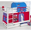 Wrigglebox Belle Spiderman Bunk Bed with Storage