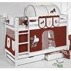 Wrigglebox Belle Horses Bunk Bed with Storage