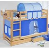 Wrigglebox Belle European Single Bunk Bed