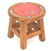 Wrigglebox Fat Pig Children's Stool