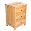 Wrigglebox Guinea 3 Drawer Bedside Table