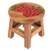 Wrigglebox Strawberry Children's Stool
