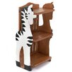 Wrigglebox Zebra Childs 78cm Bookshelf