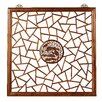 Ethnic Elements 100cm x 100cm Hangzhou Carved 1 Panel Room Divider