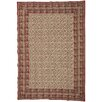 Castleton Home Red Area Rug Set (Set of 2)