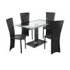 All Home Lenora Dining Table and 4 Chairs