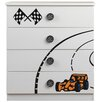 All Home Sonic Racer 4 Drawer Chest of Drawers