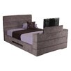 All Home Mazarine Upholstered TV Bed