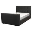All Home Jasmine Upholstered TV Bed