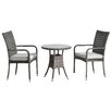 All Home Beverley 2 Seater Dining Set with Cushions