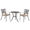 All Home Springhurst 2 Seater Dining Set with Cushions
