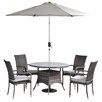 All Home Beverley 4 Seater Dining Set with Cushions