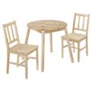 All Home Zinnia Dining Table and 2 Chairs