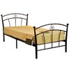 All Home Single Wrought Iron Bed