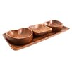 All Home Caraz 4 Piece Serving Dish Set