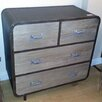 All Home Hesby Loft 4 Drawer Chest of Drawers