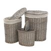 All Home Mesa 3 Piece Laundry Basket Set