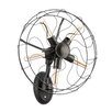 All Home Design-Wandleuchte 5-flammig Vintage Fan
