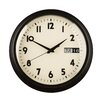 All Home 30cm Day / Date Wall Clock