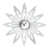 All Home Wanduhr Flower 50 cm