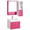 All Home 30cm Single Vanity Set with Mirror