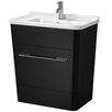 All Home 24 cm Einzelwaschbeckenunterschrank-Set