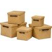 All Home 5-tlg. Aufbewahrungsboxen-Set