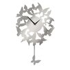 All Home Pendulum Butterflies Wall Clock