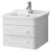 All Home 57 cm Einzelwaschbeckenunterschrank-Set