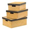 All Home 3 Piece Storage Box Set