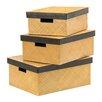 All Home 3 Piece Storage Box Set