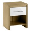 All Home Copenhagen 1 Drawer Bedside Table