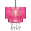 All Home 30cm Drum Pendant Shade