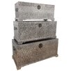 All Home Repousse 3 Piece Trunk Set