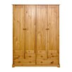 All Home Liffler 4 Door Wardrobe