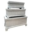 All Home Marquises Metal Blanket Box