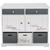 All Home Straja 2 Drawer Chest