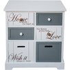 All Home Kirigamine 4 Drawer Sideboard