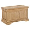 All Home Loggia Wooden Blanket Box